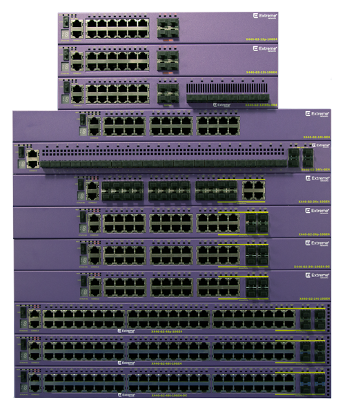 Scalable cost-effective edge switching X440-G2 | Extreme Networks Switching