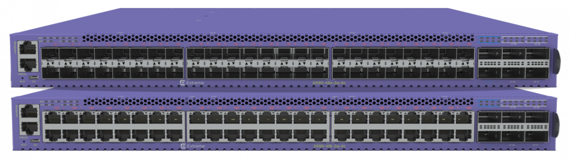 High-performance 10/25 Gigabit Aggregation Switch X695 Series | Extreme Networks Switching