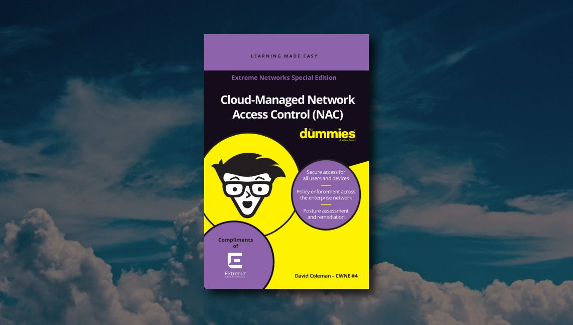 Cloud NAC for dummies cover page image
